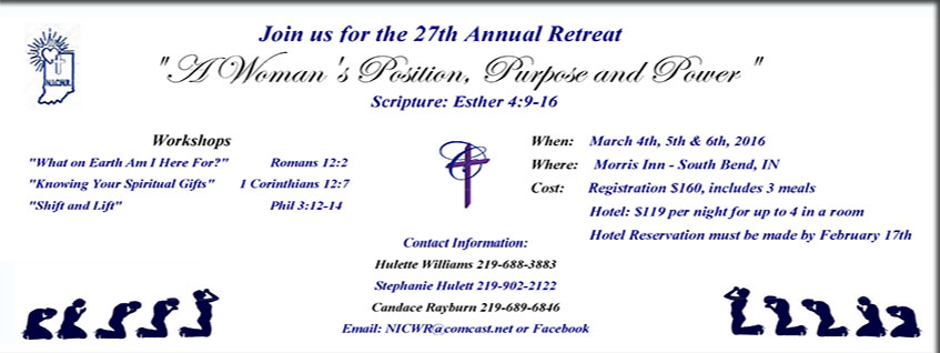 27th Annual Retreat. A Woman's Position, Purpose and Power